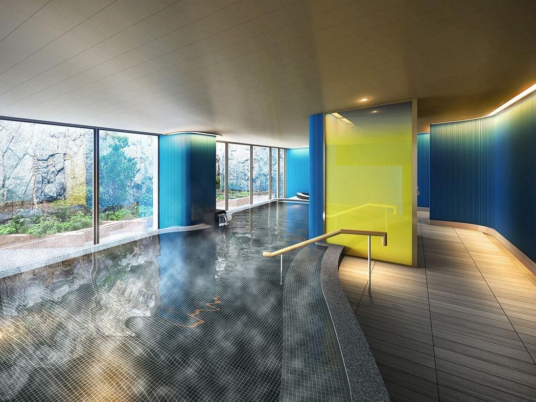 2020年8月7日リニューアルオープン!大浴場「松原の湯」は広々湯舟でゆったり疲れを癒す…