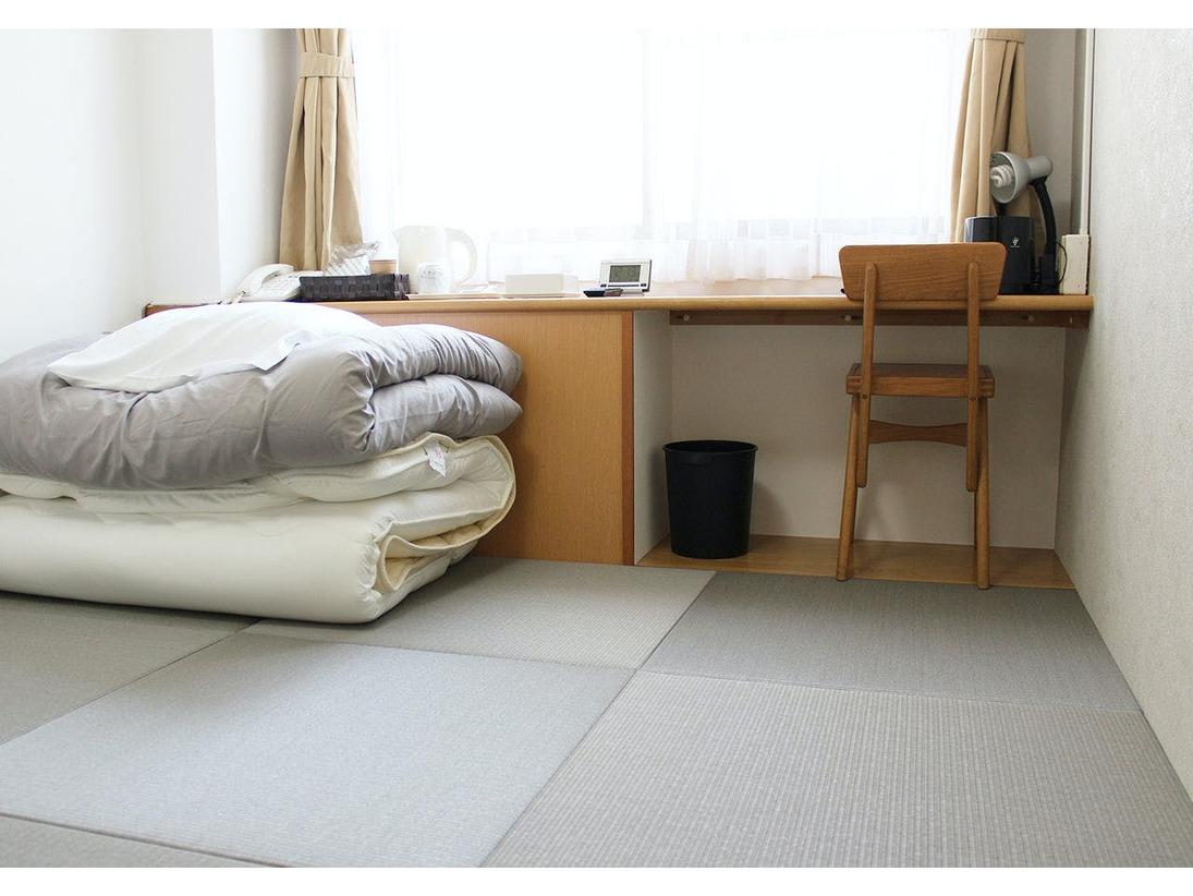 和室タイプのお部屋です。トイレ・お風呂は共用利用となります。