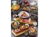会席料理「雅(みやび)」プラン ご夕食イメージ