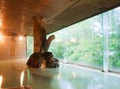 ほのかな硫黄の香りに癒される田沢湖高原の源泉をお楽しみください。