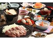 八戸せんべい汁と十和田バラ焼きのプラン