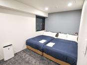 ◆ツインルーム◆全室スランバーランドベッド完備!