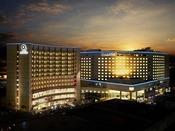 ロワジールスパタワー那覇ロワジールホテル那覇・ロワジールホテル那覇イースト3館が同敷地に立地。