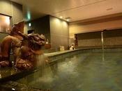天然温泉の大浴場でゆっくりリラックス