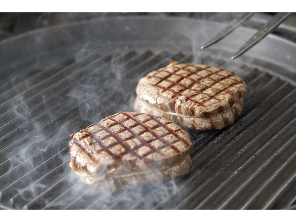ステーキの調理