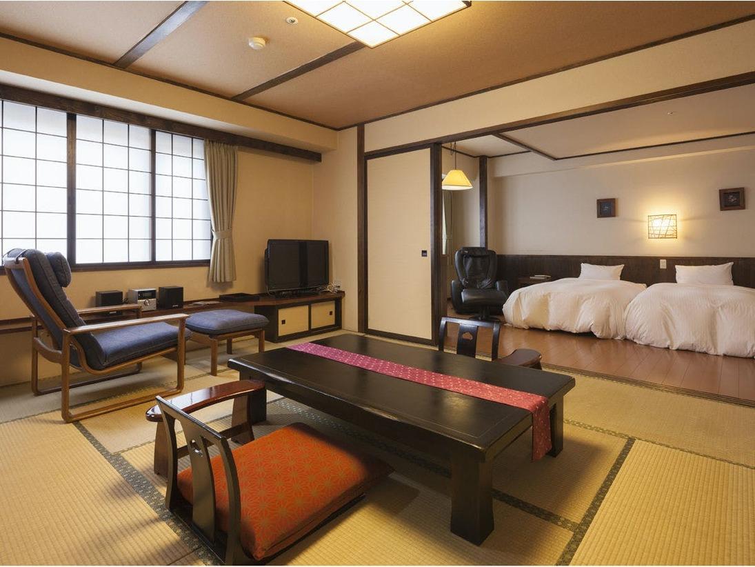 和洋室 10畳+6畳【ふるさと館】54平米