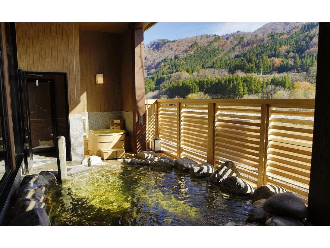 【大浴場】露天風呂(イメージ)四季折々の自然を感じる温泉露天風呂。