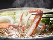 井上料理長のこだわり極上スープの「かに鍋」