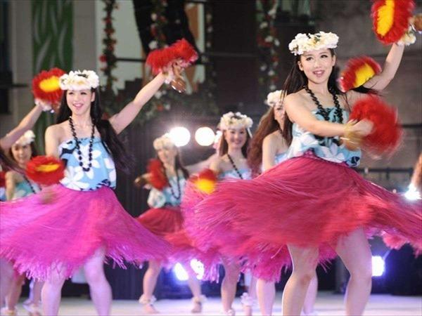 【ハワイアンズ】フラダンスショー
