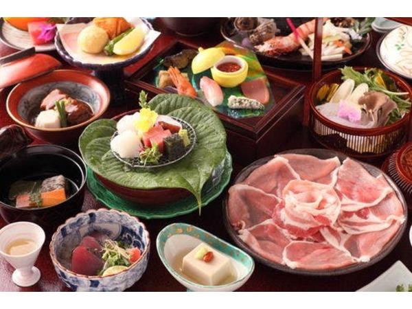 旬の食材を使った季節の和食会席料理