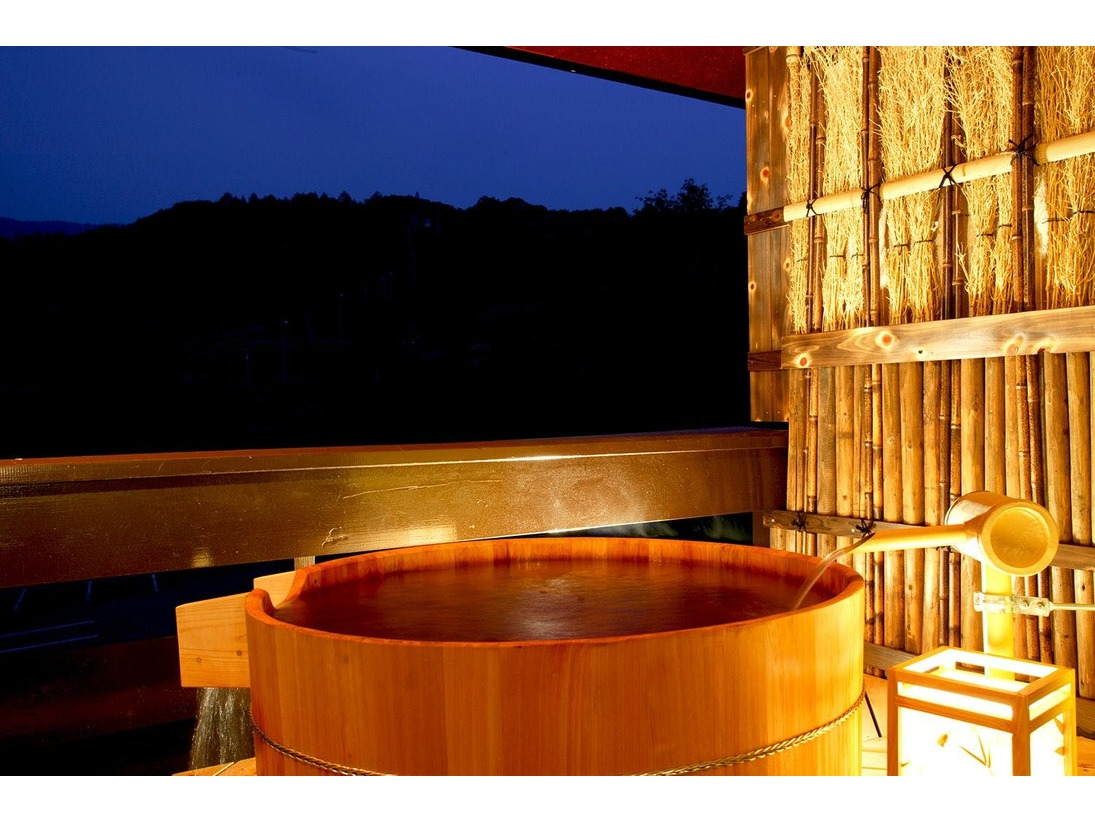 【<禁煙>源泉かけ流し露天風呂付客室】秘湯・奥利根温泉を気兼ねなく満喫ください。