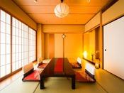 「瑞香亭/一例」一般客室では味わえない、ゆとりに満ちた『ワンランク上の寛ぎ』をお愉しみください