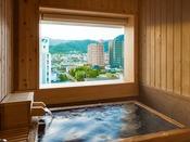 ■藤壷 半露天檜風呂■ ヒノキが醸し出す癒しの空間【湯田の名湯】を心行くまでたっぷりと