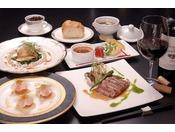 欧風レストラン「バーデンバーデン」お箸で食べるフレンチフルコース(料理イメージ)