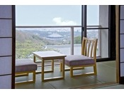 お部屋から大仏殿が眺められる風の棟2階眺望和室。2年連続でミシュランガイド、3パビリオン赤をいただいたお部屋でもあります。