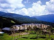 【外観】標高1,040mに佇む高原リゾート