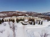 【グランデコスノーリゾート】雪に囲まれたホテル