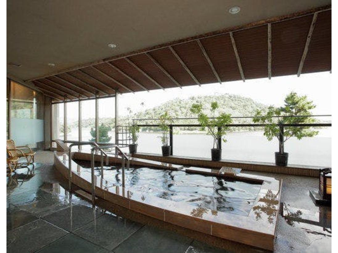◆大浴場「遠州絵巻の湯」露天風呂