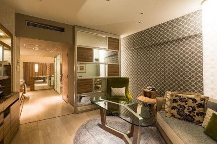 【Tポイント1%】【たった2部屋の贅沢!Web スペシャル】42平米 ダブルルーム 「ルームパルタジェ」