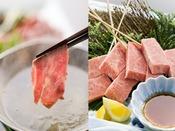 """夕食【A5特選牛会席】海の幸がおいしい能登で、あえて""""お肉""""で勝負します。"""
