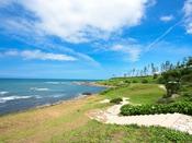 休暇村前の二の浜海岸。雄大な日本海にときめき!