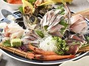 三國の地魚料理 お造り(2名様分)