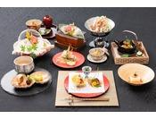 【グレードアッププラン】贅沢霜降り肉と鮮魚堪能☆郡山うねめ牛&ズワイ蟹鍋&1品追加