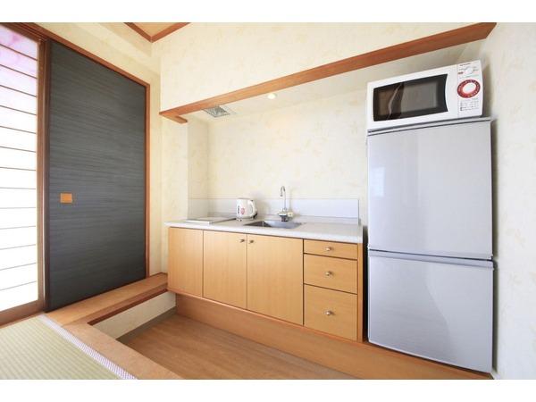 全室キッチン完備で調理も楽々!
