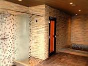 男性大浴場(シャワーブース・サウナ・水風呂)