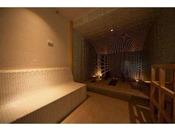 女性大浴場 アロマサウナ&岩盤浴
