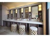 女性大浴場 パウダールーム