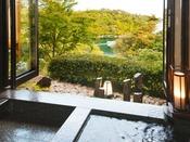 【100RAKU suite-連理-】(露天風呂)