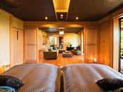 【BAY suite-翡翠-】(ベッドルーム)