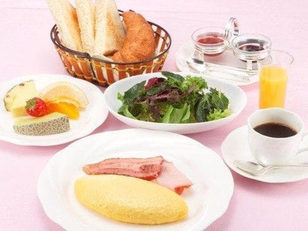 *ご朝食一例アメリカンブレックファースト