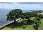 錦江湾を望む庭園(豊松庭)