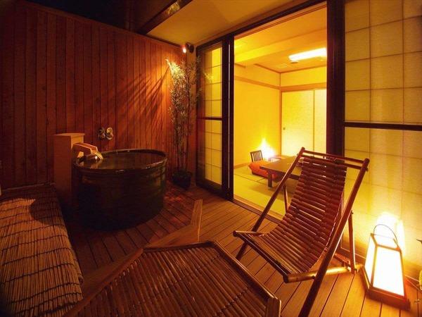露天風呂付き客室