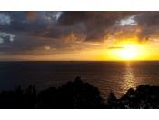 名湯洲本温泉を楽しみながら幻想的な朝陽をご覧下さいませ