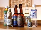 【ミニバー・ドリンク】~ 冷蔵庫には京都らしいドリンクをご用意しております。 ~  ※有料