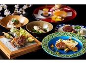 フォアグラや鮑、京都牛など全7品の創作鉄板料理