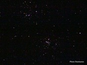 ペルセウス二重星団(画像:大谷山荘撮影)