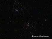 ペルセウス座二重星団(大谷山荘天体ドームにて撮影)
