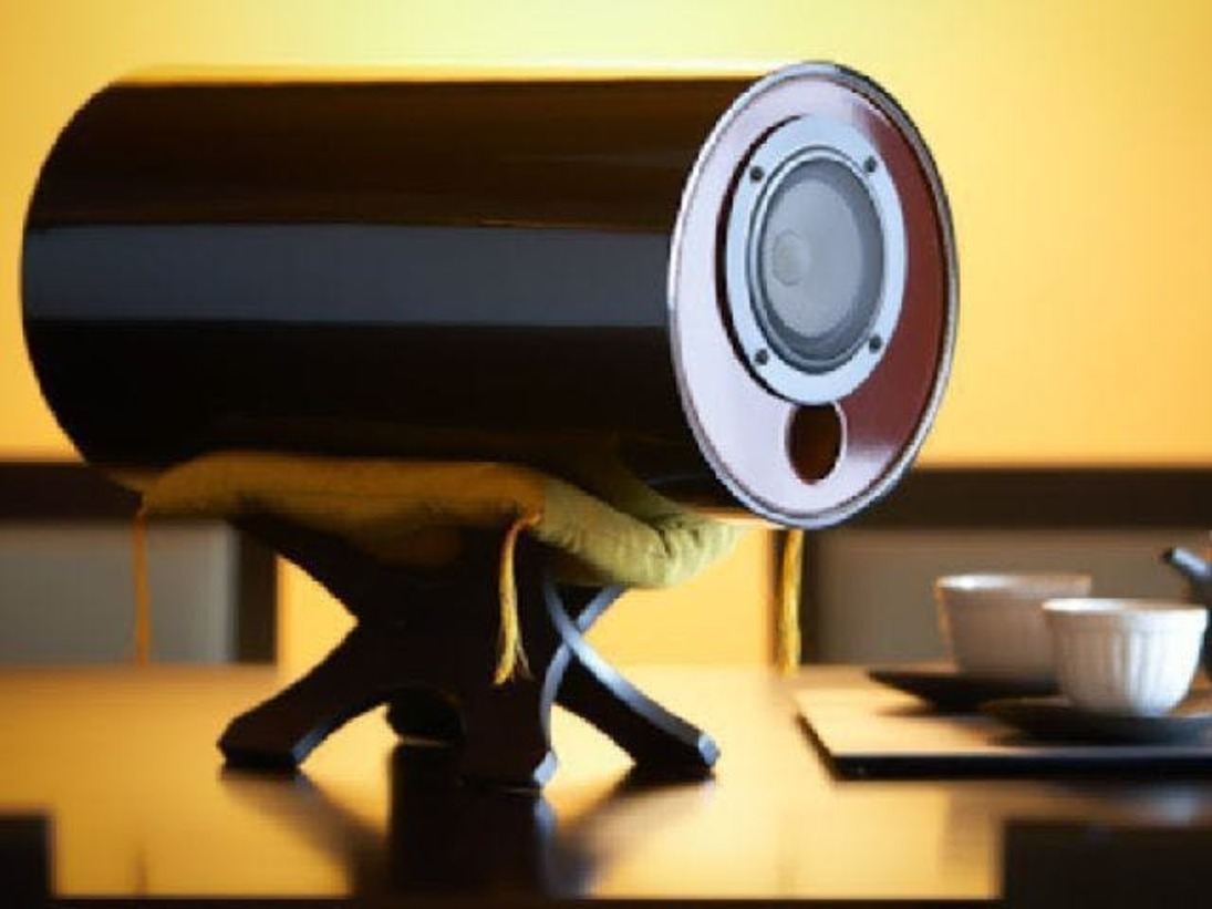 職人の手により、ひとつひとつ丁寧に作り上げられた「M`sシステム」のスピーカーを6棟全てに設置。体全体を柔らかく包み込む音響をお楽しみください。