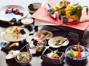 ◆夕食◆新春限定の装いイメージ。日にいくつも獲れない貴重な獅子ゆずが香る、冬のおもてなし