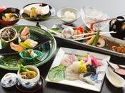 ◆夕食◆目に美しい。舌に美味しい。何度来ても、その日だけのお品書き