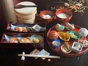 ◆朝食◆美味しいものを少しだけお部屋にて…美味少量京懐石