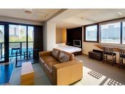 ≪ドッグフレンドリーグランデ(カーペットフロア)≫ワンちゃんとご宿泊可能なお部屋です