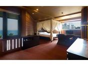≪コーナーリゾート≫大切な人とのご旅行を素敵に演出するリゾート感にあふれたお部屋です。
