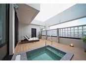 ココスイートルーム 露天風呂