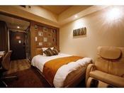 ■シングルルーム シャワーブースタイプ■18平米 40インチTV 150cm幅ベッド