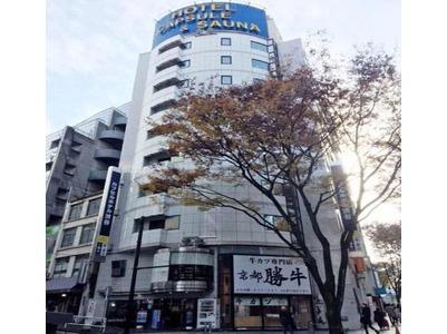 カプセルホテル渋谷